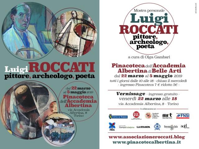 Invito Mostra Roccati Pinacoteca Postcard